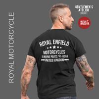 Kaos Baju Motorcycle Royal Enfield Motor Klasik Pegasus Bikers Riders - L