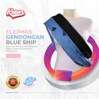 GENDONGAN BAYI PREMIUM ELEPHAS BLUE SHIP   GENDONGAN BAYI - M 51 - 65 Kg