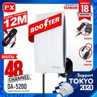 antena tv digital PX DA-5200 indoor outdoor smart antena luar dalam