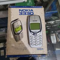 Nokia 3330 FULL ORIGINAL mulus fullset langka