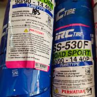 Paket Ban tubetype IRC ukuran 80/90/14 & 90/90/14