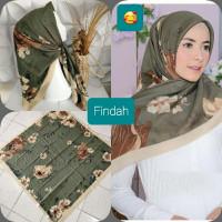 jilbab segiempat motif buttonscarves terbaru bahan voal premium