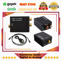 Converter Audio Digital to Analog Toslink Coaxial Optical RCA TV