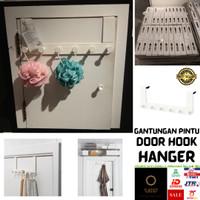ENUDD3N Gantungan Baju Tas Gantungan Pintu Kamar Hook Hanger Serbaguna