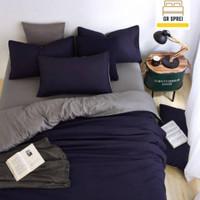 Set bed cover SPREI Hotel polos Katun Premium Uk 200x200 T.30
