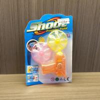 Mainan Anak 3+ Shoot Propeller Pistol Baling Terbang 2 Pcs Oren