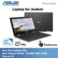 Chromeebook Asus Chromebook Flip C214MA 4GB 64GB Chrome OS Resmi
