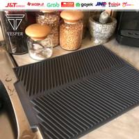 silicone alas pengering dapur tatakan gelas piring kitchen / bar mat