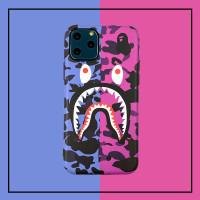 SOFT CASE CASING IPHONE BAPE SHARK 7 8 PLUS + X XR XS 11 12 PRO MAX - Shark, 7/8/SE