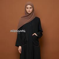 abaya hitam shafa aqila