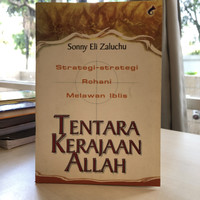 Tentara Kerajaan Allah/Sonny Eli Zaluchu/Buku Rohani Kristen/Bekas