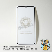 HD 9H Full Cover Tempered Glass Anti Gores iPhone X XS XR 11 Pro Max