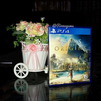 BD Kaset PS4 Assassins Creed Origins PS 4 Bekas Second Mulus