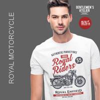 Kaos Baju Motorcycle Royal Enfield Riders Motor Klasik Bikers Vintage
