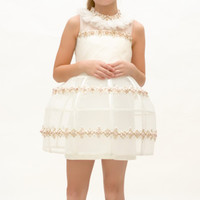 Baju Pesta Party Dress Remaja Perempuan Payet, Fashion Anak Marionette
