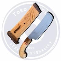 Golok Kecil Super Tajam Fulltank 100% Baja Terjamin Best Quality