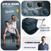 Masker ATEJA 3 ply Original dan Murah