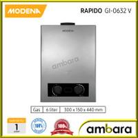 Modena Gas Water Heater RAPIDO 6 Liter GI 0632V / GI0632V