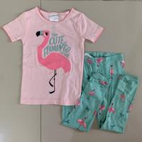 Baju Tidur Anak Perempuan Carter Flamingo