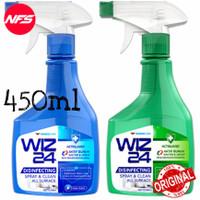 WIZ24 Disinfectant 450 ml All Surface Spray & Clean/WIZ 24 Disinfektan