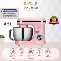 PROMO - RAVELLE Stand Mixer 4.5 L - Standing Mixer Kapasitas 4.5 Liter