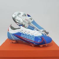 sepatu bola nike mercurial 14 elite blue red silver fg