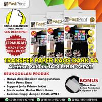 Fast Print Transfer Paper Kaos Gelap A4 China