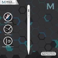 MILS Apple Pencil Series Palm Reject Tilt Sensitive iPad Stylus MP-10