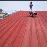 pasang atap spandek pasir