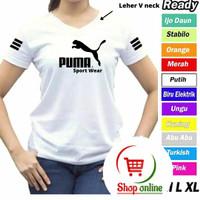 Kaos Olahraga Wanita adidas / baju fitnes aerobik kaos senam zumba