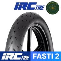 Ban Motor IRC Fasti 2 ( Fasti2 ) 90/80-17 Race Compound ( Tubeless )