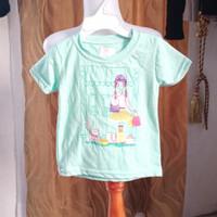 baju anak wanita motif gambar merk justice LD50 panjang 33