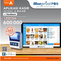 Paket Usaha / Aplikasi Kasir BLUEPRINT POS 6 Bulan Free Hardware