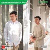 Kemeja Lengan Paniang Zafar / Semi Baju Koko - Pilih Warna