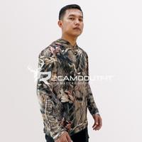 Baju Camo Realtree Pakaian Kamuflase Berburu motif Hardword