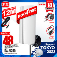 Antena | antenna Digital TV Indoor outdoor Px DA-5700 supp set top box