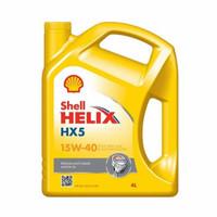 Oli Shell Helix HX5 Sae 15w-40 Galon 4 Liter Original