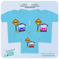 Kaos Couple Keluarga | Baju Anak Family Custom Tema Tayo NW 3415