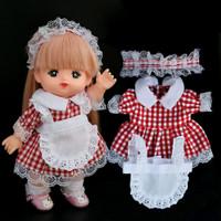 Baju boneka impor mellchan doll clothes kostum cook