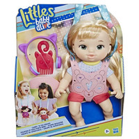 Baby Alive Carry N Go Squad Little Chloe Blonde Hair Doll - Gendongan