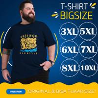 Kaos Big Size Jumbo XXXL 5XL 6XL 7XL 8XL 10XL Oblong Polos Motif