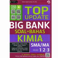 Buku Top Update Big Bank Soal Bahas Kimia SMA/MA Kelas 10, 11, 12