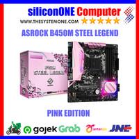 ASROCK B450M STEEL LEGEND PINK