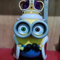King Bob Minion Bucket Popcorn Tumbler Ori