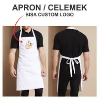 Apron Celemek Custom Logo, Full Body