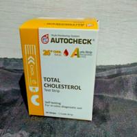 strip autocheck cholesterol/ autochek cholestrol
