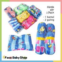 Z11 Guling dan Bantal Bayi Anak Toddler Baby Motif Warna Lucu Unisex