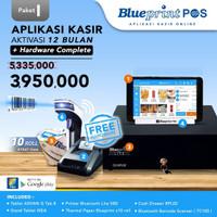 Paket Usaha/Aplikasi Kasir BLUEPRINT POS 1 Thn Free Hardware Lengkap