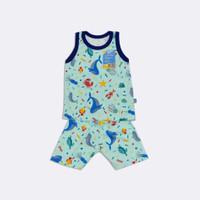 setelan baju bayi singket newborn joel astro - Tosca, S