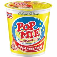 Pop Mie Kuah Rasa Kari Ayam 75 gr
